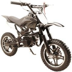 Jet Moto 50 Ultra Mini Dirt Bike, 2-Stroke ! Inverted Forks - FREE SHIPPING