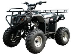 Jet Moto 110cc X1 Sport/Utility mid size  Youth  ATV -With OVER-SIZE Tires - Larger Frame Higher Ground Clearence Metal Brush Gaurdrds