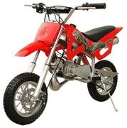 JETMOTO XT Deluxe 50 - 2-Stroke Mini Youth Dirt Bike - No Gas & Oil Mixing -