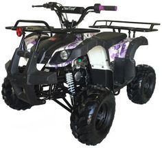 Kymoto Mountopz RX4 110cc Mid Size Utility Rancher Youth Quad. Special Purchase Price Lowest Price of the Year. New colors  Larger Body and frame with all the parental controls of the beginner models.