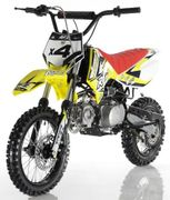 Orion Deluxe X4 110cc Dirt / Pit Bike - Semi-Automatic - Inverted Forks - Rugged Suspension -