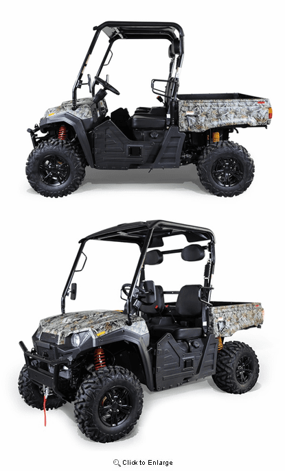 Outfitter 550 4 X 4 / 2019 UTV / Ariives Fully Assembled Ready to Drive- Macpherson Suspension -