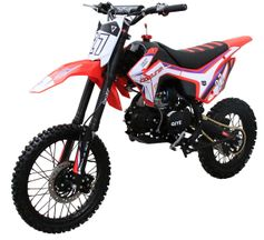 """SRM-125 Ultra Dirt / Pit Bike - Select Manual """"35 inch seat height manual trans Upgraded Suspension - Custom Graphics"""