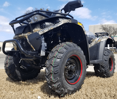 VENTURE Commando 400 4X4 Sport-Utility ATV-Quad Great for Work or Play - Snow Plows Available -FREE SHIPPING*