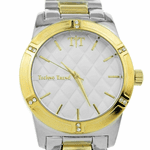 Modern Men's Two-Tone Watch