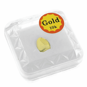 10k Gold Single Top Tooth