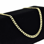 """Cuban Chain 24"""" Gold Plated 4MM"""