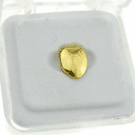 14K Gold Plated Bottom Tooth Cap