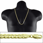 "Gold 30"" x 5MM Cuban Curb Chain"