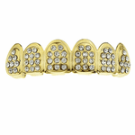 Gold Top Grill Icy Tombstone