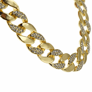 """30"""" x 15MM Gold Plated Cuban Chain"""