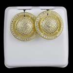 World Gold Plated Earrings