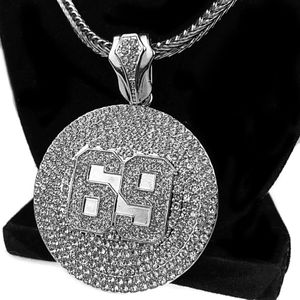"""69"" Chain Silver 36"" Franco Necklace"