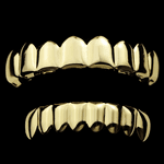 Cartel Gold 8/8 Grillz Set