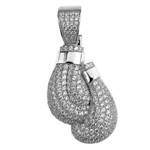 925 Silver Boxing Gloves Pendant