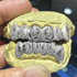 925 Solid Silver Polynesian Laser Engraved Grillz