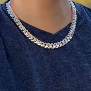 "925 Silver Cuban Chain 20"" x 12MM"