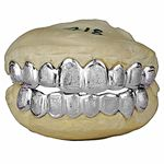 925 Sterling Silver Diamond Dust Custom Grillz