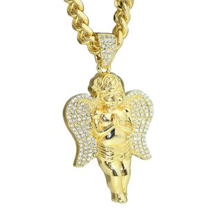 "Angel Gold 30"" Cuban Chain"
