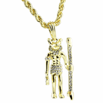 Anubis Gold Rope Chain 24""