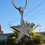 "Silver Star 36"" Franco Chain"