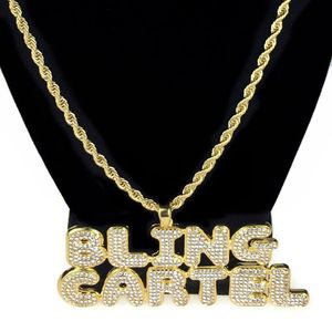 """Bling Cartel Gold Rope Chain 24"""""""