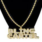 Bling Cartel Gold Rope Chain 24""