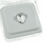 Silver Bottom Single Tooth Cap