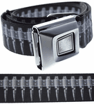 Gray Bullets Buckle-Down Belt