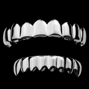 Cartel Silver 8/8 Grillz Set