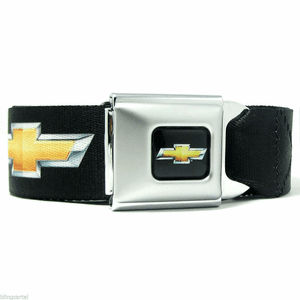 Chevrolet Yellow Bowties Logo Belt