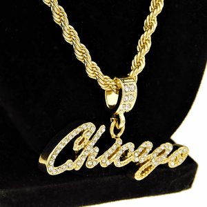 "Chicago 24"" Gold Rope Chain"