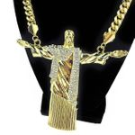 "Huge Christ The Redeemer 30"" Chain"