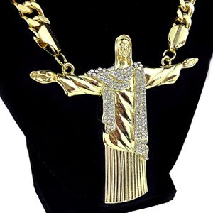 "Big Christ The Redeemer 30"" Chain"