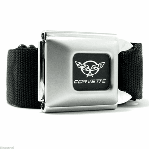 Corvette Seatbelt Belt Buckle-Down