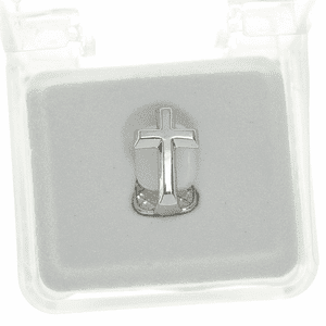 Silver Cross Single Top Tooth Cap