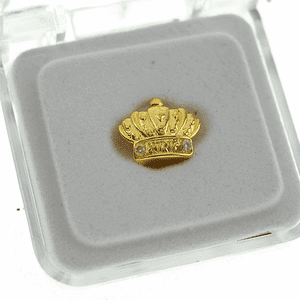 Gold Crown Top Single Tooth Cap