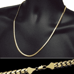 "Miami Cuban Gold Chain 24"" 5MM"