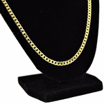 """Cuban Chain 30"""" Gold Plated 4MM"""