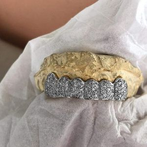 925 Silver Real Natural Diamonds Custom Grillz