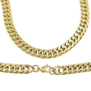 "30"" x 12MM Double Cuban S. Steel Chain"