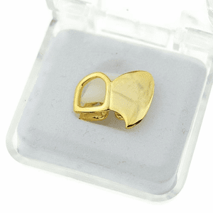 Gold Double Left Top Fang
