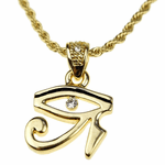Eye Of Horus Micro Rope Chain 24""