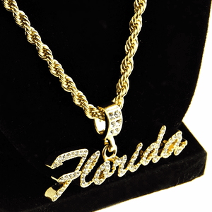 "Florida 24"" Gold Rope Chain"