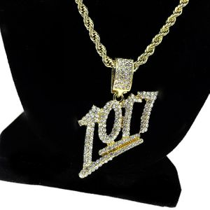 1017 Gold Rope Chain 24""
