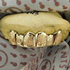 Gold Plated Diamond-Dust Grill
