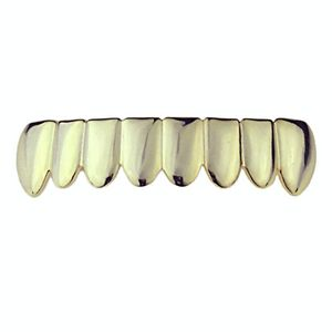 14K Gold Plated 925 8 Bottom Grillz