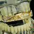 Gold AK-47 Top Teeth Bling Grillz