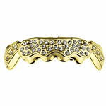 Gold Cluster Lower Grillz