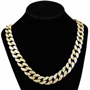 "Gold 24"" x 15MM Cuban Chain"
